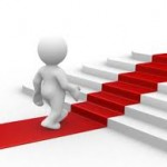 Taking steps - up stairs